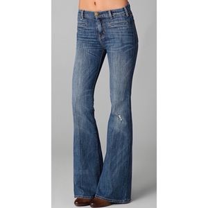 NWT Current/Elliot The Charlie Pant Flare Jeans